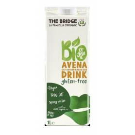 Lapte vegetal de ovaz fara gluten 1l ECO-BIO - The Bridge