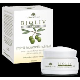 Crema hidratanta nutritiva Bioliv Hydra 50ml - Cosmetic plant