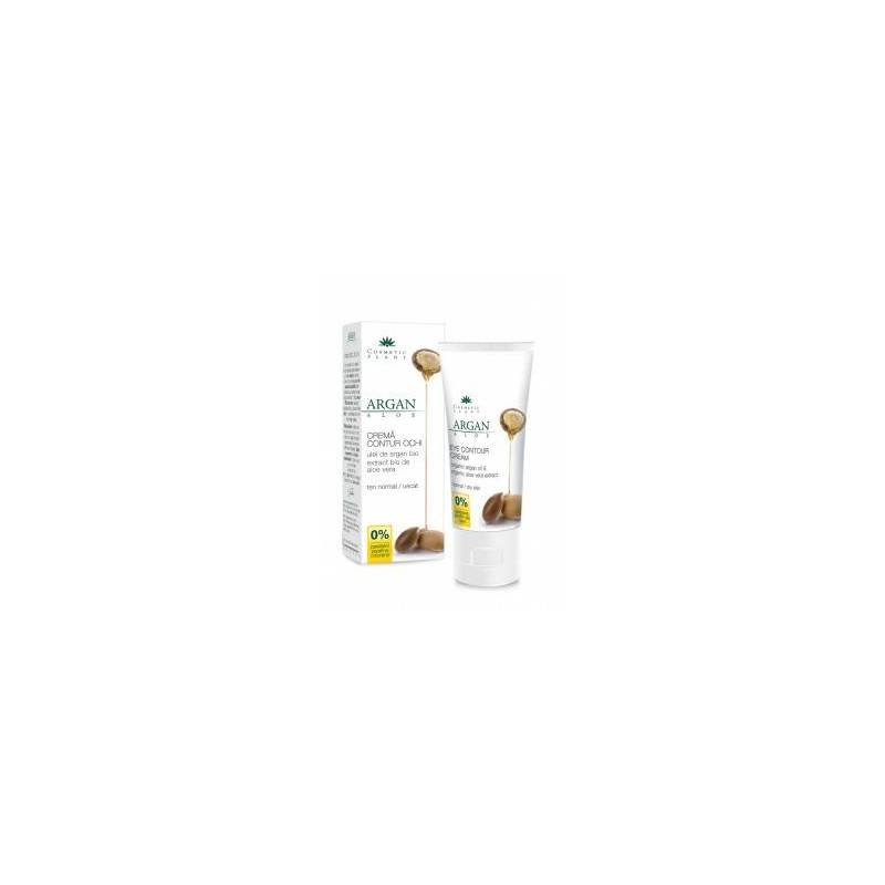 Crema contur ochi argan si aloe vera 30ml - Cosmetic plant