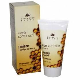 Crema contur ochi cu miere si laptisor de matca 30 ml - Cosmetic plant
