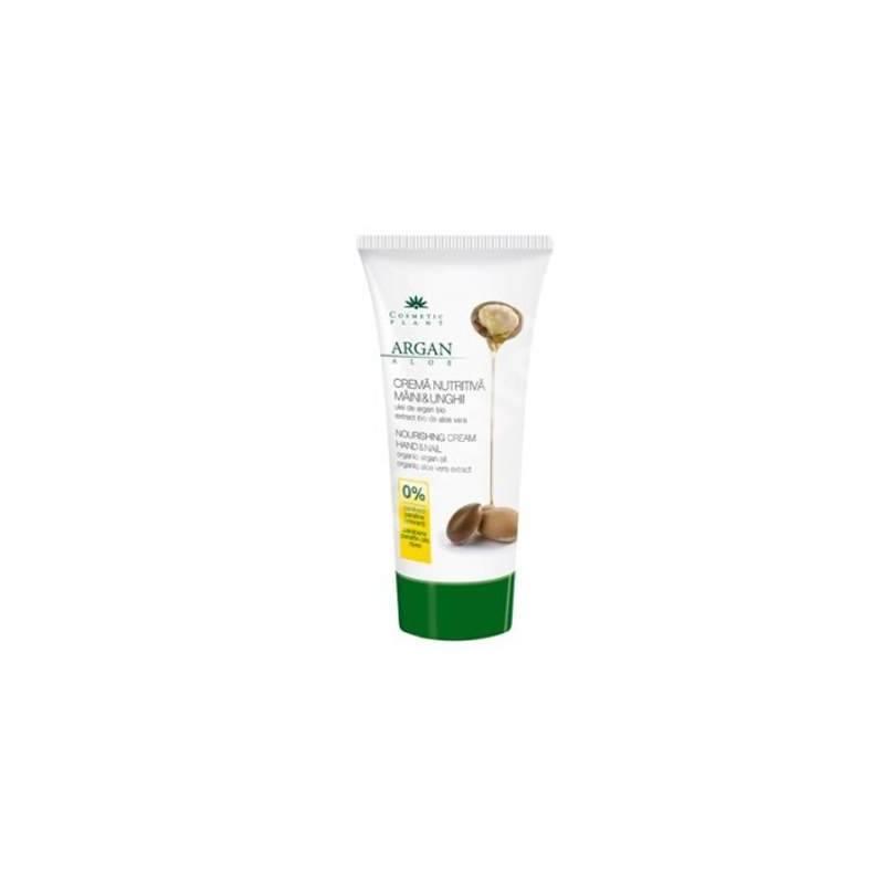 Crema maini si unghii cu ulei de argan si extract de aloe vera 100ml - Cosmetic Plant
