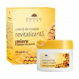 Crema de noapte revitalizanta cu miere si laptisor de matca 50ml - Cosmetic Plant
