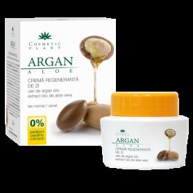 Crema regeneranta de zi cu ulei de argan 50ml - Cosmetic plant