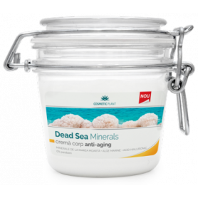 Crema corp anti-aging cu minerale de la Marea Moarta 200ml - Cosmetic plant