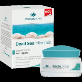 Crema de zi anti-aging cu minerale de la Marea Moarta 50ml - Cosmetic plant