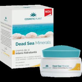 Crema de zi intens hidratanta cu minerale de la Marea Moarta 50ml - Cosmetic plant