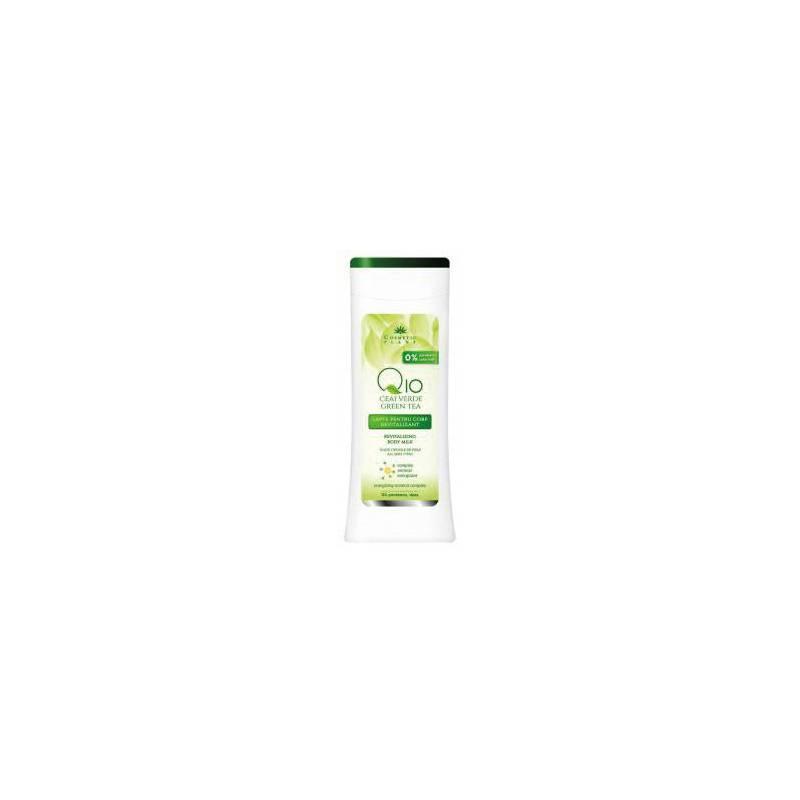 Lapte corp revitalizant Q10 + ceai verde 200ml - Cosmetic plant