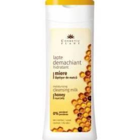 Lapte demachiant hidratant cu miere si laptisor de matca 200ml - Cosmetic plant