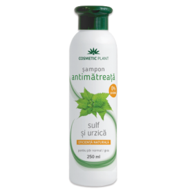 Sampon antimatreata cu sulf si urzica 250ml - Cosmetic plant