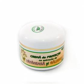 Crema de protectie cu extracte de tataneasa si galbenele 50g -  Abemar Med
