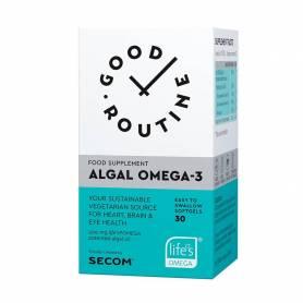Algal-Omega-3 - 30cps, Good Routine, Secom