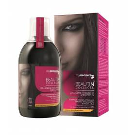 BEAUTIN COLLAGEN LICHID 500ml - aroma de mango si pepene - My Elements - ISOPLUS
