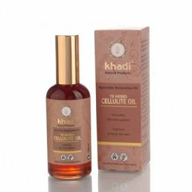 Ulei anticelulitic 10 plante 100ml - Khadi