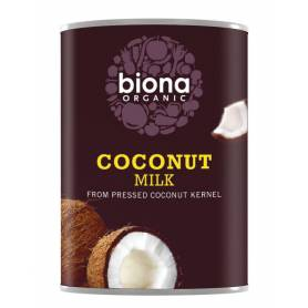 Lapte vegetal de cocos 400ml eco-bio Biona