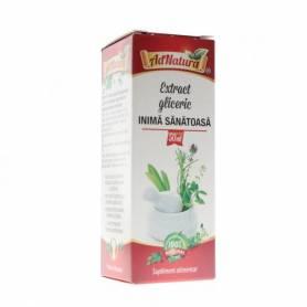 Extract Gliceric Inima Sanatoasa 50ml Adnatura
