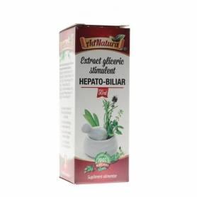 Extract Gliceric Stimulent Hepato Biliar 50ml - Ad Natura