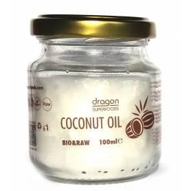 Ulei de cocos extra virgin 100g - ECO-BIO - Dragon Superfoods