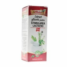 Extract Gliceric Stimularea Lactatiei 50ml - Ad Natura