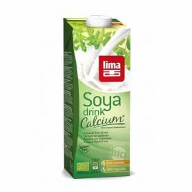 Lapte de soia cu calciu bio 1l - Lima