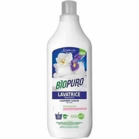 Detergent hipoalergen pentru rufe albe si colorate eco-bio 1L - Biopuro