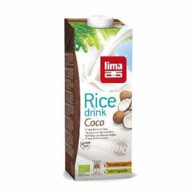 Lapte de orez cu cocos bio 1l - Lima