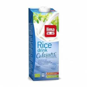 Lapte de orez cu calciu bio  1l - Lima