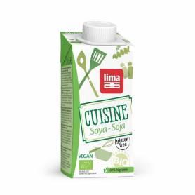 Crema (smantana) din soia bio 200ml - Lima