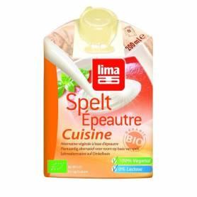 Crema (smantana) din spelta bio 200ml - Lima