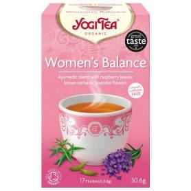 CEAI ECHILIBRUL FEMEILOR 17pl ECO-BIO - Yogi Tea