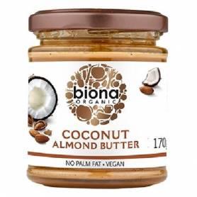 Unt de migdale si cocos bio 170g - Biona