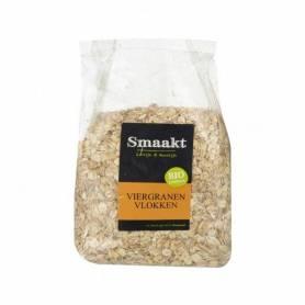 Fulgi din 4 cereale bio 500g - Smaak