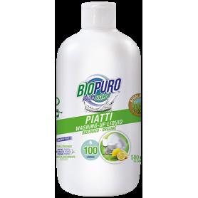 Detergent lichid pentru vase, 500ml Biopuro