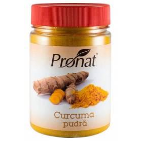 Curcuma pudra, 150g - Pet - Pronat
