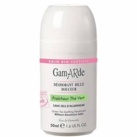 Deodorant natural roll-on cu ceai verde bio 50ml - Gamarde