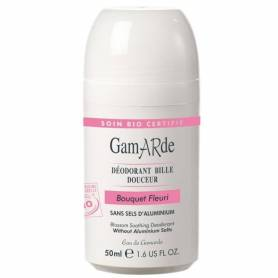 Deodorant natural roll-on cu aroma florala bio 50ml - Gamarde