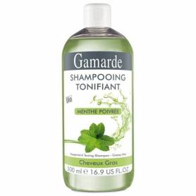 Sampon natural tonifiant bio 500ml - Gamarde