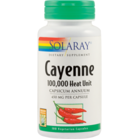 Cayenne 450mg 100cps - Secom