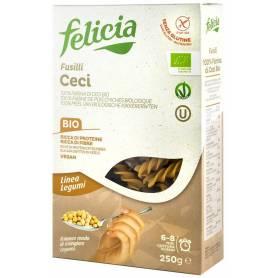 Fusilli din faina de naut - eco-bio 250g - Felicia Bio