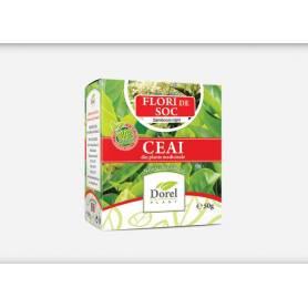 Ceai de flori de soc 50g - Dorel Plant