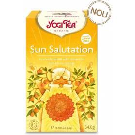 CEAI Salutul SoareluiI 17pl ECO-BIO - Yogi Tea