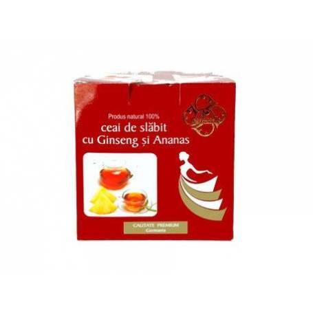 Ceai de slabit cu Ginseng si Ananas 20 doze » Pret 5,98Lei • Puterea Plantelor