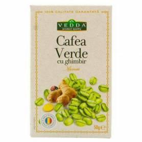 Cafea Verde cu ghimbir 50g - Vedda