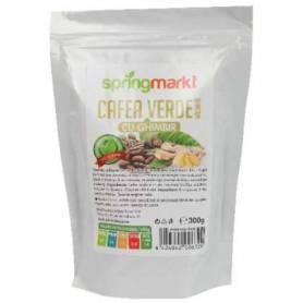 Cafea Verde Macinata + Ghimbir 300g - Adams Vision