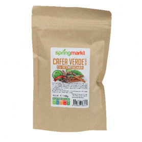 Cafea Verde Macinata + Scortisoara 150g - Adams Vision
