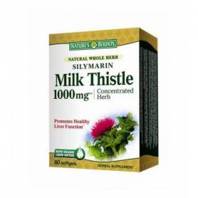 Silymarin Milk Thistle 1000mg 60cps - Nature's Bounty