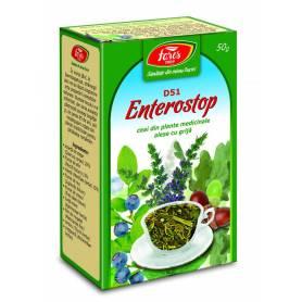 Ceai Enterostop - antidiareic 50g - Fares