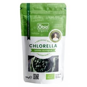 Chlorella tablete 500mg 250tb - 125g - OBio