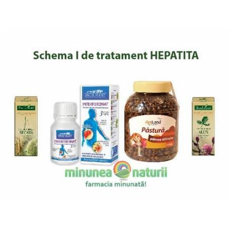 Schema I de tratament HEPATITA