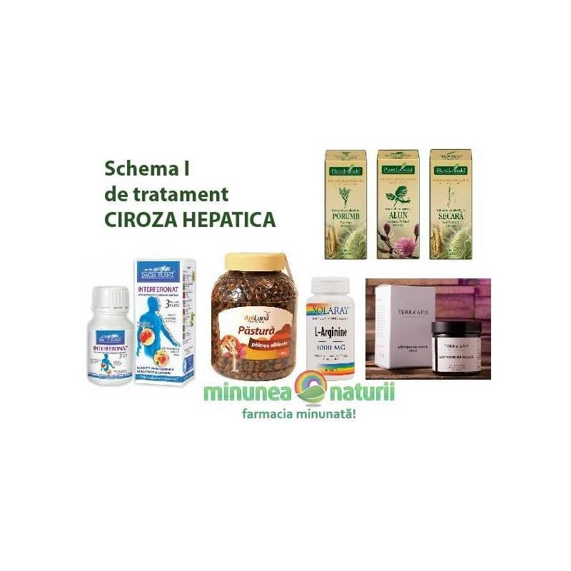 Schema I de tratament CIROZA HEPATICA