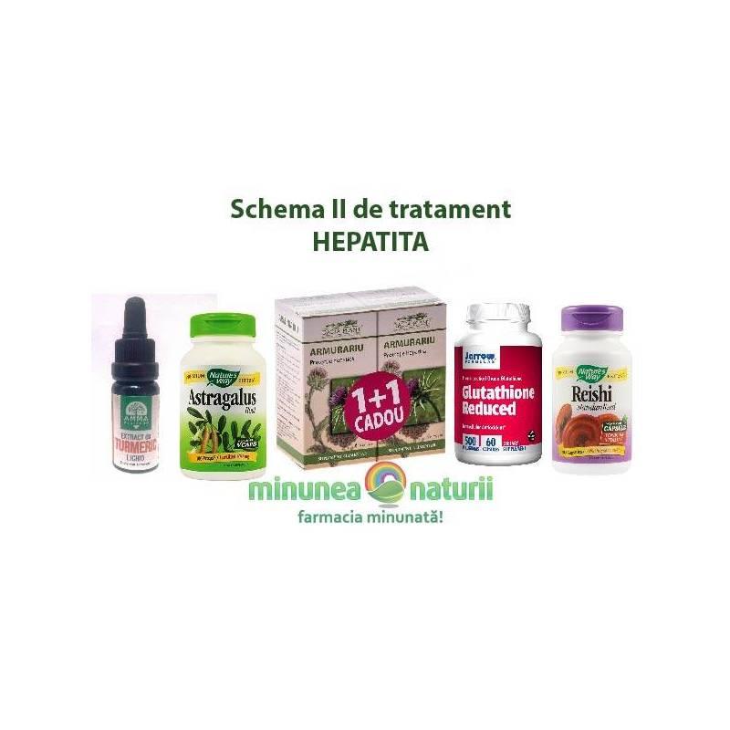 Schema II de tratament HEPATITA